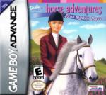 GameBoy Advance - Barbie Software Horse Adventures Blue Ribbon Race (front)