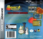GameBoy Advance - Board Game Classics (back)