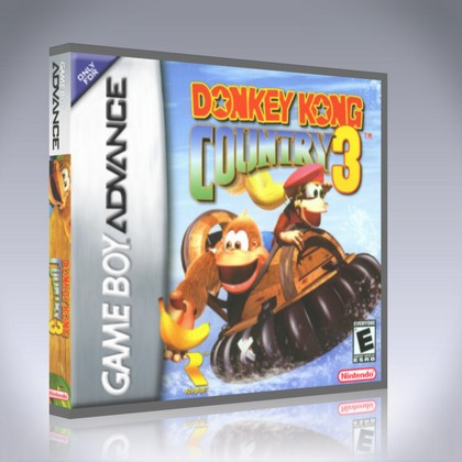 donkey kong country gba rom