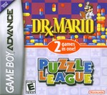 GBA - Dr. Mario & Puzzle League (front)