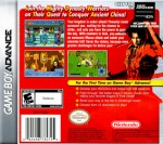 GBA - Dynasty Warriors Advance (back)