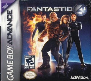 GBA - Fantastic 4 (front)