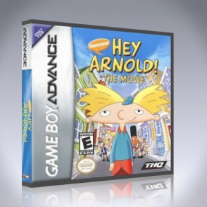 GameBoy Advance - Hey Arnold! The Movie