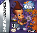 GameBoy Advance - Adventures of Jimmy Neutron Boy Genius: Attack of the Twonkies (front)