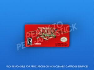 GameBoy Advance - The Legend of Zelda: The Minish Cap Label