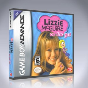 GameBoy Advance - Lizzie McGuire: On the Go!