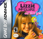 GameBoy Advance - Lizzie McGuire: On the Go! (front)