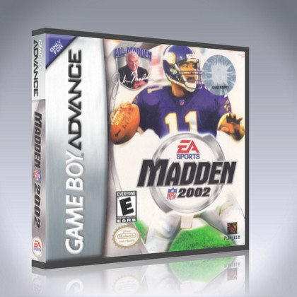 GameBoy Advance - Madden NFL 2002