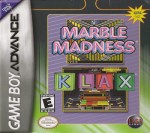 GBA - Marble Madness KLAX (front)