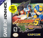 GBA - MegaMan 5 Battle Network Team Colonel (front)