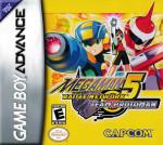 GBA - MegaMan Battle Network 5 Team Protoman (front)