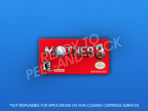 GameBoy Advance - Mother 3 Label