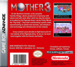 GameBoy Advance - Mother 3 (back)
