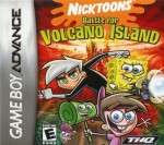 GBA - Nicktoons Battle for Volcano Island (front)