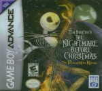 GBA - Nightmare Before Christmas (front)