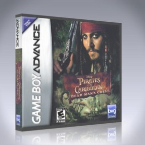 GameBoy Advance - Pirates of the Caribbean: Dead Man's Chest