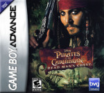 GameBoy Advance - Pirates of the Caribbean: Dead Man's Chest (front)