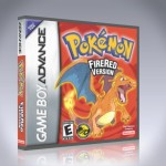 GBA - Pokemon Fire Red Version