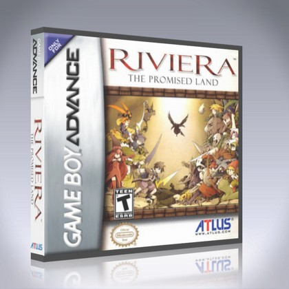 GameBoy Advance - Riviera: The Promised Land