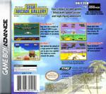 GBA - Sega Arcade Gallery (front)