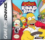 GameBoy Advance - Simpsons Road Rage (front)