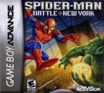 GBA - Spider-Man: Battle for New York (front)