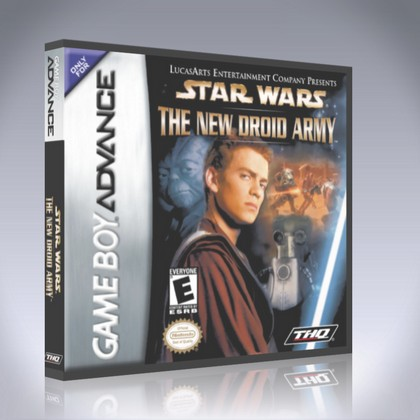 Gameboy Advance Star Wars The New Droid Army Custom Game Case Retro Game Cases