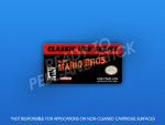 GameBoy Advance - Super Mario Bros. Label