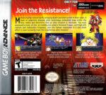 GBA - Super Robot Taisen: Original Generation (back)
