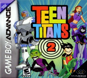 GBA - Teen Titans 2 (front)
