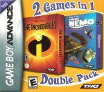GBA - The Incredibles & Finding Nemo, 2 Games in 1 (front)
