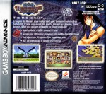 GameBoy Advance - Yu-Gi-Oh!: Dungeondice Monsters (back)