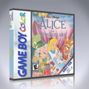 GameBoy Color - Alice in Wonderland