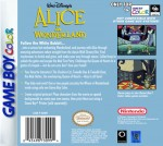 GameBoy Color - Alice in Wonderland (back)