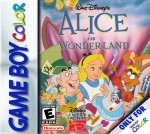 GameBoy Color - Alice in Wonderland (front)