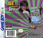 GameBoy Color - Austin Powers: Oh, Behave! (back)