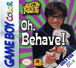 GameBoy Color - Austin Powers: Oh, Behave! (front)
