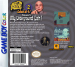 GameBoy Color - Austin Powers: Welcome to My Underground Lair! (back)