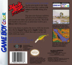 GameBoy Color - Black Bass Lure Fishing (back)