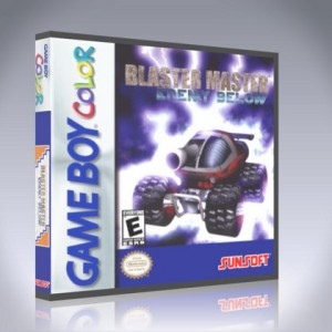 GameBoy Color - Blaster Master: Enemy Below