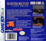 GameBoy Color - Blaster Master: Enemy Below (back)