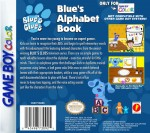 GameBoy Color - Blue's Clues: Blue's Alphabet Book (back)