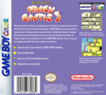 GameBoy Color - Bugs Bunny: Crazy Castle 3 (back)
