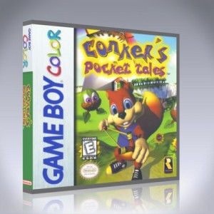 GameBoy Color - Conker's Pocket Tales