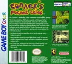 GameBoy Color - Conker's Pocket Tales (back)