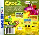 GameBoy Color - Croc 2 (back)