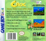 GameBoy Color - Croc (back)