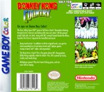 GameBoy Color - Donkey Kong Country (back)