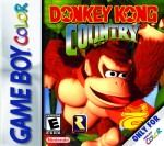 GameBoy Color - Donkey Kong Country (front)