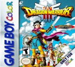 GameBoy Color - Dragon Warrior III (front)